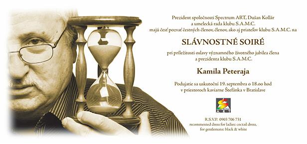 2005 PETERAJ 50 pozvanka