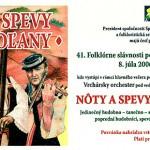 2006 Folklorne slavnosti pod polanou Pozvanka DETVA