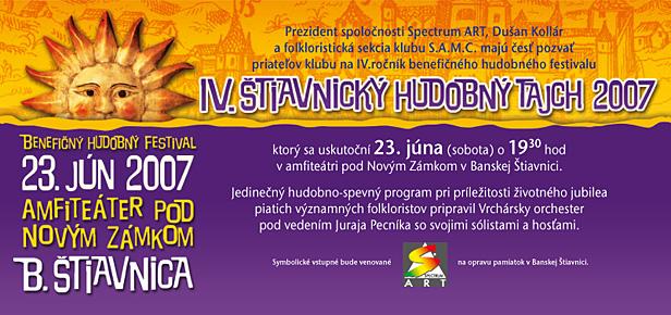 4 Stiavnicky Tajch pozvanka 2007