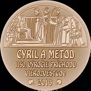 Pamätná medaila TTSK k výročiu Cyrila a Metoda