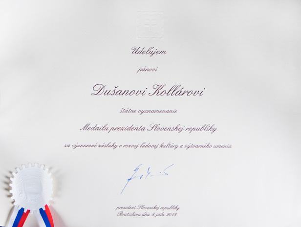 Kolar_vyznamenanie_list