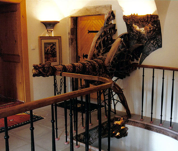 Staircase with banisters 2